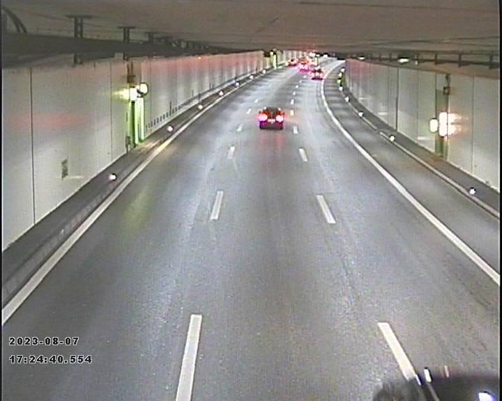 A2 Tunnel Schlund